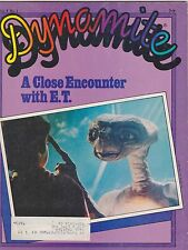V6 #1 DYNOMITE vintage childrens magazine E.T. - THE EXTRA TERESTRIAL