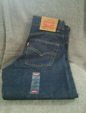 LEVIS 550 BLUE BOYS RELAXED JEANS...SIZE 8 HUSKY(28X23)..NWT