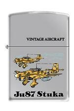 Zippo 250 JU87 Stuka German WW2 Airplane Lighter