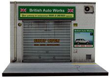 Diorama présentoir Garage British Auto Works - 1/43ème - #MR43A098