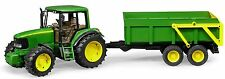 Bruder Toys John Deere Tractor 6920 w/ Tipping Trailer 09803  NEW 2016