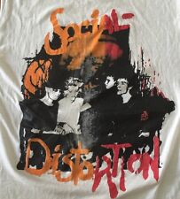 Social Distortion T-shirt Punk Oi! Black Flag GBH Nofx Rancid Adolescents Crime