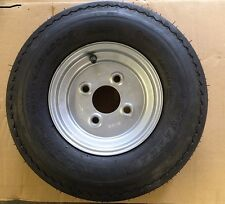 "8"" Trailer Wheel and Tyre 4.80/4.00-8 4 stud 100pcd"