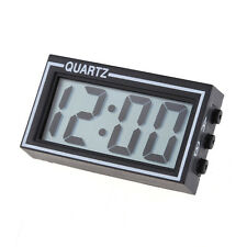 Mini Digital LCD Dashboard Auto Clock Time Calendar for Car Motorcycle Motor