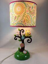 "Lambs & Ivy Dena Happi TABLE LAMP, 18"" Tall x 9"" Wide BABY TREE LAMP + BULB"