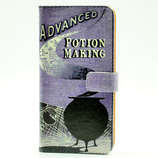 Harry Potter Advanced Potion Making Leather Wallet Card Case For iphone 6 Plus
