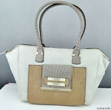 NWT Handbag GUESS Maluca Hobo Bag Stone Multi Ladies