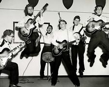 """The Dominoes Skiffle Group 10"""" x 8"""" Photograph"""