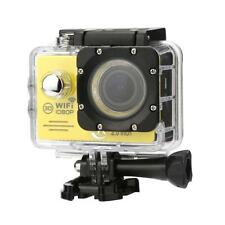 SJ7000 Mini Action Camera Outdoor Waterproof Cam 1080P HD Sport DVR 2.0 Yellow