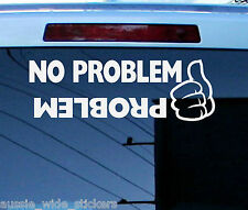 Turbo Diesel 4x4 4wd Offroad Ute Wagon Funny Stickers PROBLEM 300mm