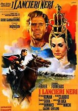 "16mm Feature ""CHARGE OF THE BLACK LANCERS"" (1962)  ""I lancieri neri"" (Italy0"