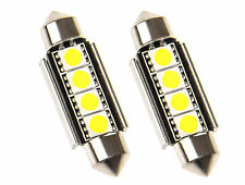 2x 38 MM Soffitte LED SMD Fußraumbeleuchtung BMW E46 Coupe Cabrio 3er M3 Weiß