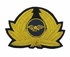 Pilot Badge for Cap Generic Badge Airline Cap Badge Gold R1745