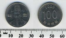 South Korea 2000 - 100 Won Copper-Nickel Coin