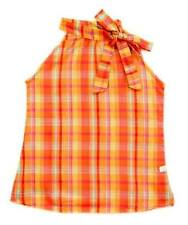Oshkosh Haltered Blouse/Top Plaid #1 Size 7 ( for 6-7 years old)