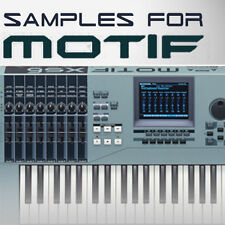 High Quality SAMPLES for YAMAHA MOTIF 6/7/8 ES XS XF - KEYMAPS READY TO PLAY