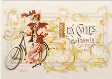ROBERT  OPIE  ADVERTISING  POSTCARD  -  LEA  &  FRANCIS  LTD.  -  CYCLES