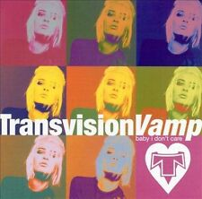 TRANSVISION VAMP Baby I Don't Care CD BRAND NEW Best Of