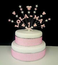 Personalised minnie mouse style birthday / Celebration Cake Topper, decoration
