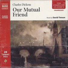 Charles Dickens Our Mutual Friend audio-CD audiobook NEW David Timson