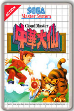 CLOUD MASTER SEGA MASTER SYSTEM FRIDGE MAGNET IMAN NEVERA
