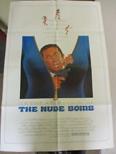 Vintage 1 sheet 27x41 Movie Poster The Nude Bomb 1980 Don Adams Sylvia Kristel