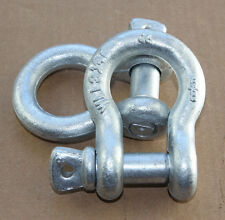 """10x 5/8"""" Screw Pin Shackle Anchor D Ring Chain Cable Haul Lift Rope Clevis"""