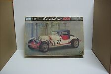 Vintage IMIA Excalibur SSK Sports Car, 1/12 Scale Exc Cond Sealed Inside 1970's!