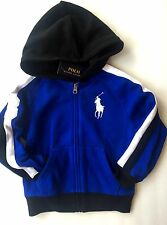 NWT Boys Ralph Lauren Hooded Jacket Sweatshirt age 4 years