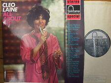 SFL 13006 Cleo Laine - All About Me - 1962 LP