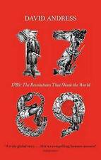 1789: The Revolutions That Shook the World, David Andress, Paperback, New