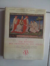 Les missions Catholiques des origines au XVIème siècle ( Grund 1956 )