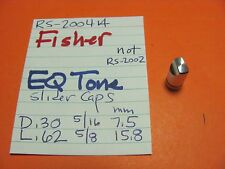 FISHER EQ TONE SLIDER CAP KNOB RS-2004A RS-2007 STEREO RECEIVER POINTED TOP