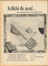 Publicité  --  LU  véritable petit-beurre