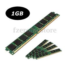 1GB DDR2 800MHZ PC2-6400 SDRAM 240Pin DIMM Memory RAM For Desktop PC Brand New