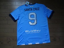 Malaga #9 Santa Cruz 100% Original Jersey Shirt L 2013/14 Home Still BNWT NEW