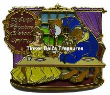 DISNEY Pin LE 500 - Charm School with Belle & Beast - Pin Trading University