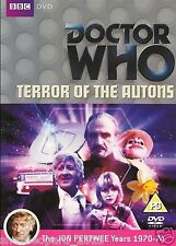 DOCTOR DR WHO TERROR OF AUTONS DVD JON PERTWEE New Sealed Original UK Rel R2
