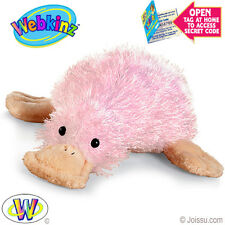 Webkinz  Pink Duck Billed PLATYPUS New with TAGS & Un-used Code
