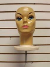 Mannequin Head Holder Slat wall Pegboard Hook Hat Wig Fashion Dispaly