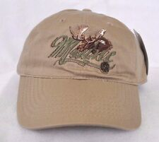 *MAINE USA* Bull Moose Ball cap hat *OURAY SPORTSWEAR* embroidered