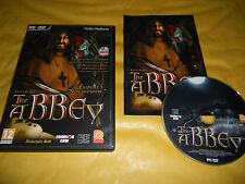 PC GAME-EMILIO DE PAZ-THE ABBEY-Computer-Gioco-Games-ITALIANO-ITA