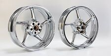 Yamaha YZF R1 New Chrome Wheels Rims SHOW QUALITY CHROME by SPORT CHROME