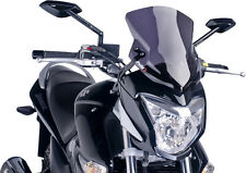 PUIG NAKED NEW GENERATION WINDSHIELD (DARK SMOKE) Fits: Suzuki GW250