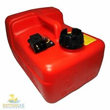 Quicksilver 12 litre outboard fuel tank - Mercury - Mariner - Quick release