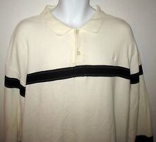 NAUTICA -  100% COTTON THERMAL LONG SLEEVE  SHIRT WITH COLLAR - MEN'S XXL