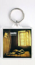 SUEDE - DOG MAN STAR LP COVER KEYRING LLAVERO