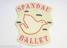 ADESIVO anni '80 vintage / Old Sticker SPANDAU BALLET (cm 11x14) gruppo musicale