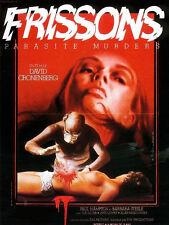 Affiche 40x60cm FRISSONS (SHIVERS) 1975 David Cronenberg - Paul Hampton BE