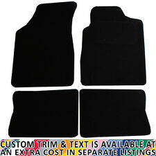 Renault Clio MK II 1998 - 2005 Fully Tailored 4 Piece Black Car Mat Set